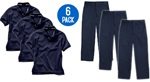 Wholesale Youth School Uniform Combo Pack
