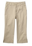 Wholesale Girls Capri Pants in Khaki