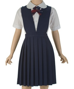 Wholesale Girls School Uniform Jumpers Navy