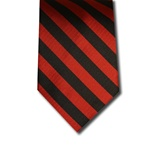 wholesale school uniform neck tie black red