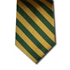 wholesale school uniform neck tie gold green