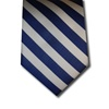 wholesale school uniform neck tie royal blue and white