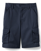 wholesale boys cargo school shorts in navy