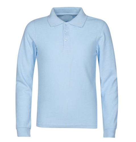 Browse Blank Long Sleeve Polo Shirts with Same Day Shipping. If you are in the market to purchase cheap long sleeve polo shirts without sacrificing quality, Shirtmax is the store for you. Shop our huge inventory of wholesale long sleeve polo shirts from brands including Jerzees, Harriton, Adidas Golf, Ashworth, and many others.