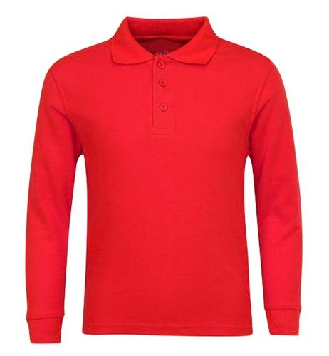 Wholesale boys long sleeve school uniform polo shirt in for Long sleeved polo shirts for boys