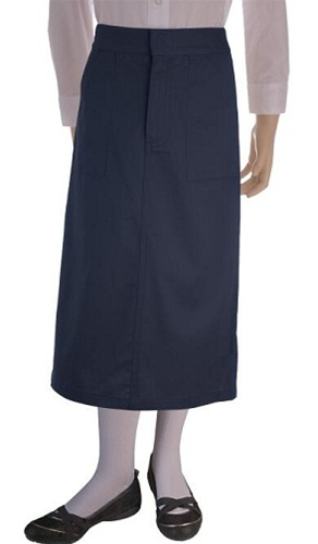 wholesale s school skirt in navy blue