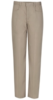 Wholesale Girl's School Uniform Stretch Pencil Skinny Pants in Khaki