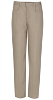 Wholesale Junior Girl's Stretch Pencil Skinny School Uniform Pants in Khaki by Size