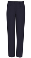 Wholesale Junior Girl's Stretch Pencil Skinny School Uniform Pants in Navy Blue