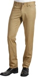 Men's Skinny Jean Cut Pants in Khaki