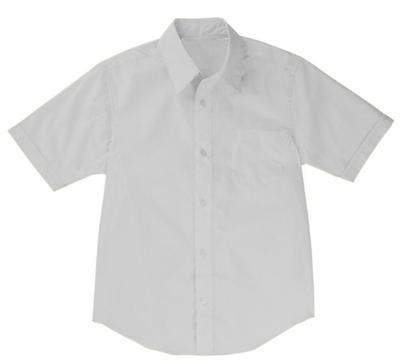 ac220fa7d27d Wholesale Boys Short Sleeve Dress Shirt School Uniform in Blue ...