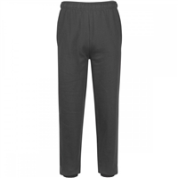 Wholesale Boys Fleece Sweatpants Charcoal  Grey