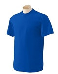 Wholesale Men's Crew Neck T-Shirt in Royal Blue