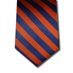 wholesale school uniform neck tie orange royal