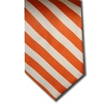 wholesale school uniform neck tie orange white