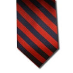 wholesale school uniform neck tie red navy