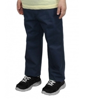 wholesale toddler school pants in navy