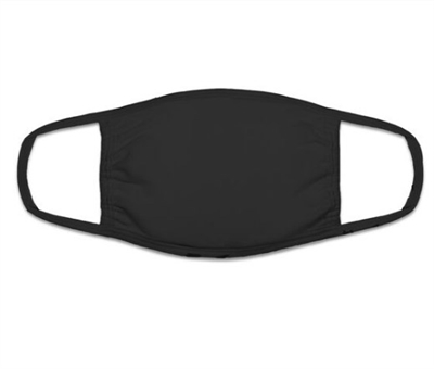 Wholesale Youth cloth face mask black
