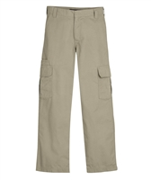wholesale boys cargo school pants in khaki