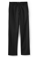 wholesale boys flat front school pants Black from school uniform supplier Wholesale Schoolwear