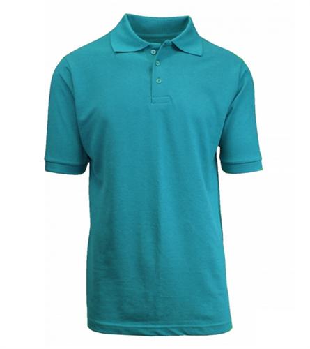 52e45439 Wholesale Boys Short Sleeve School Uniform Polo Shirt Teal