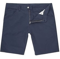 Wholesale Girl's School Uniform Bermuda Length Shorts  in Navy Blue