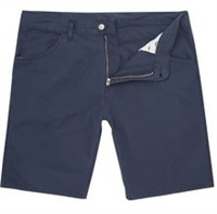 Wholesale Girl's School Uniform Bermuda Length Shorts in Navy by Size