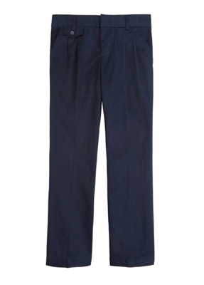 Wholesale Girl's School Uniform Pants in Navy by Size