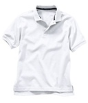 Wholesale Girls Short Sleeve School Uniform Polo Shirt White
