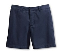 Wholesale Girl's School Uniform Shorts in Navy Blue