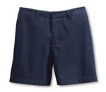 Wholesale Girl's School Uniform Shorts in Navy by Case