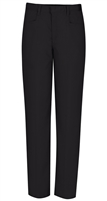 Wholesale Girl's School Uniform Stretch Pencil Skinny Pants in Black by Size