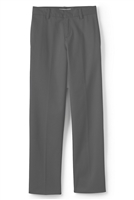 wholesale Husky Boys flat front school pants Grey