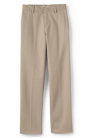 wholesale Husky Boys flat front school pants khaki
