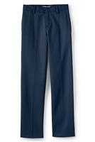 wholesale Husky Boys flat front school pants Navy