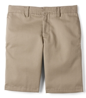 wholesale Husky Boys flat front school Shorts Khaki