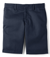 wholesale Husky Boys flat front school Shorts Navy