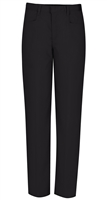 Wholesale Junior Girl's Stretch Pencil Skinny School Uniform Pants in Black by Size